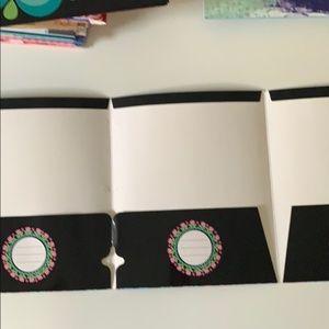 carolina pad Office - The Kaleidoscope collection 3 pckt folder set of 2